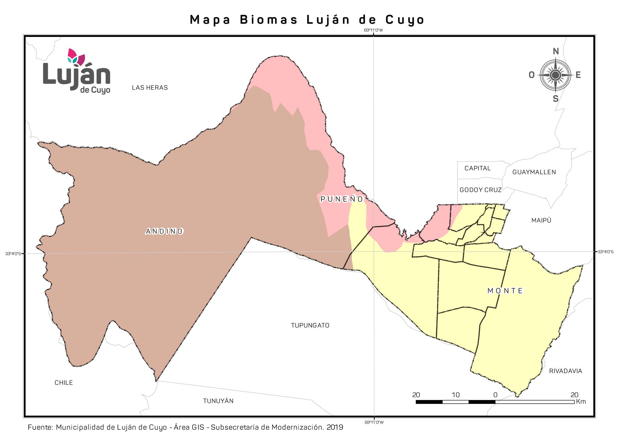 Mapa Biomas