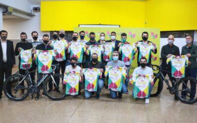 Luján de Cuyo presentó su equipo de Ciclismo de Ruta
