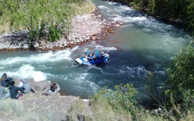 Luján de Cuyo se destacó en la segunda fecha del Torneo Argentino de Rafting
