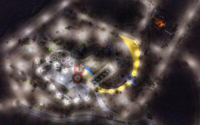 Luján de Cuyo inaugura la Plaza de Juegos Infantiles más grande de Mendoza